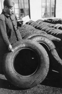 Шинно-ремонтная мастерская, 1952 г. г. Одесса, 1952 г. (2637)