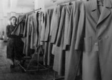 Швейные изделия Одесской фабрики им. Воровского. 7.IV.53 г. Одесса. Я. Левит (593)