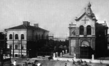 Портовая Николаевская церковь. Одесса