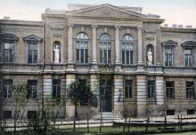 Преображенская площадь, Одесса, гравюра