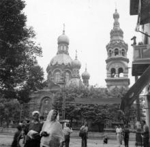 Мещанская церковь на улице Старопортофранковской. Одесса, начало 1930-х годов