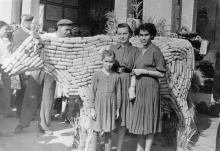 Одесса. На сельскохозяйственной выставке в парке «Победа». 1957 г.