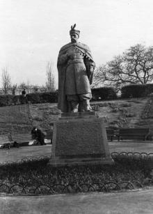 Памятник Богдану Хмельницкому в парке им. Т.Г. Шевченко в Одессе