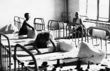 Спальня воспитанников школы-интерната. Одесса, осень 1948 г.