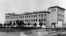 Здание школы-интерната. Одесса, 1948 г.
