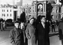 Оперный театр, ул. Ленина, Одесса, 1962 г.