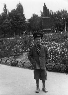 На площади Советской Армии, Одесса, 1958 г.