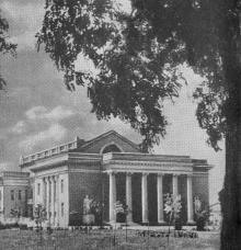 Всесоюзный селекционно-генетический институт. Одесса. Фотография из путеводителя «Одесса», 5-е издание,  1968 г.
