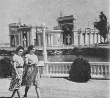 Театр Куяльницкого курорта. Одесса. Фотография из путеводителя «Одесса», 5-е издание, 1968 г.