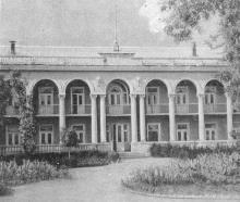 Дом отдыха «Ударник». Фотография в кратком справочнике «Курорты Одессы», 1966 г.