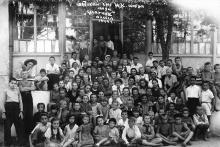 Детский санаторий ЦК союза связи «Ударник». Одесса. 1949 г.