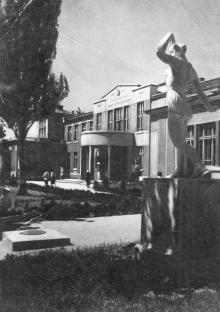 Одесса. Лермонтовский санаторий. Фотограф Б. Левит. 1939 г.
