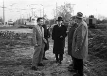 Площадь 10 апреля в середине 1960-х годов