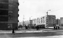 Новоселов (Филатова) угол Космонавтов. Одесса. 1967 г.