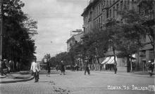 Одесса. Ул. Лассаля, фотооткрытка, 1930-е годы