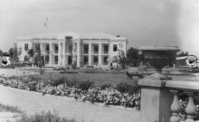 Пионерлагерь завода Стальканат, 1953 г.