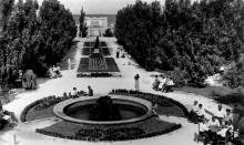 Санаторий им. ВУЦИК в Хаджибейском парке, 1930-е годы