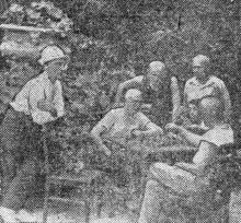 У всеукраїнському санаторії для робітників освіти. Одеська газета «Чорноморська комуна» від 21.07.1934 р.