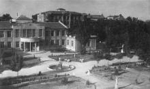 Одеса. Лермонтовський курорт. Фото В. Залеського. Поштова картка. 1940 р.