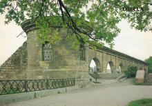 Аркада карантина с башней в парке имени Т.Г. Шевченко. Начало XIX века