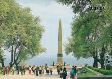 Монумент Неизвестному матросу на аллее Славы. Скульптор М. Нарузецкий, архитекторы П. Томилин, Г. Топуз