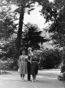 Территория дома отдыха «Ударник». Одесса. 1958 г.