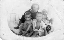 Одесса, Люстдорф, в санатории. 1934 г.