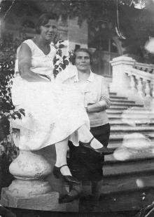 В санатории имени Карла Маркса. Куяльницкий курорт. Одесса. 1932 г.