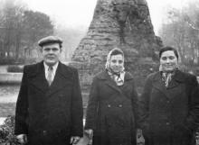 Одесса. В сквере 9-го января. Фотограф Владимир Петрович Лисовский. 1960-е годы