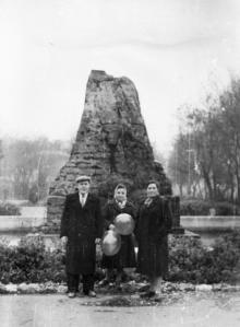 Одесса. У фонтана в сквере 9-го января