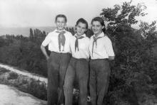 Одесса. Артек. 31 июля 1949 г.