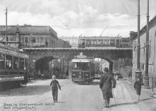 Вид на Строгановский мост. Из фотоальбома изд-ва Покорного, 1914 г.