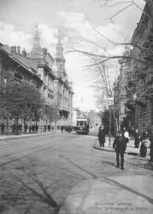 Садовая улица. Из фотоальбома изд-ва Покорного, 1914 г.