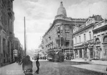 Ланжероновская ул. Из фотоальбома, изданного И. Покорным. Одесса, 1914 г.