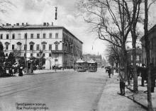 Преображенская ул. Из фотоальбома изд-ва Покорного, 1914 г.