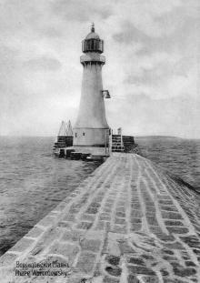 Воронцовский маяк. Фотография в альбоме изд-ва Покорного