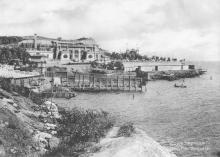Сад «Аркадия». Из фотоальбома изд-ва Покорного, 1914 г.