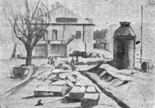 Почато перепланування міського садку на вул. Лассаля. Газета «Чорноморська комуна» від 02.04.1934 р.