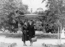 В городском саду. Одесса. 1956 г.