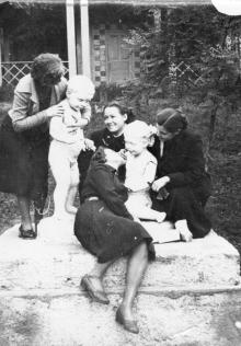 В Пионерском парке. Одесса. 1956 г.