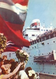 «Адмірал Нахімов» в Одесі