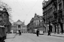 Одесса. Ришельевская улица. 1942-1943 годы