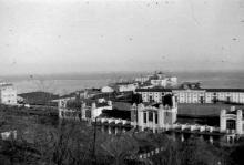 Вид на Одесский порт. 1942-1943 годы