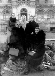 Курорт Куяльник. Одесса. 1949 г.