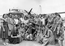 Аэропорт. Одесса. 1958 г.