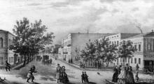 Одесса. Ланжероновский переулок, по направлению к Гаванной