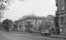 Ул. Воровского угол ул. Осипова. Фото С. Калмыкова. Одесса, 1987 г.
