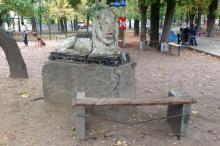 В Мечниковском сквере. Фото Е. Волокина. Одесса. 24 октября 2015 г.