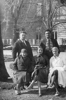 В кардиологическом санатории. Одесса. 1940 г.