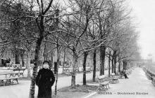 Odessa. Boulevard Nicolas. Carte postale